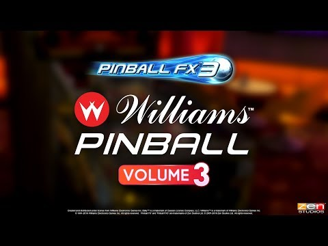 Williams Pinball Vol. 3 for Pinball FX3 – Theatre of Magic! The Champion Pub! Safe Cracker! thumbnail