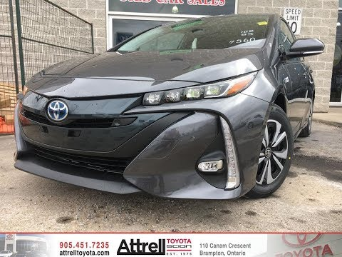 2018 Toyota Prius Prime Technology Package Review Brampton ON – Attrell Toyota