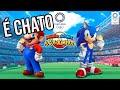 Mario E Sonic Nas Olimp adas Muito Chato an lise review