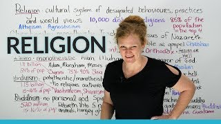 Culture & Vocabulary: Major religions of the world