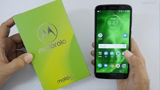Moto G6 Unboxing & Overview (Indian Unit)