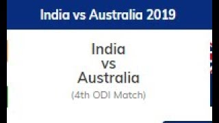 India vs Australia | 4th ODI Fantasy Match | 11Wickets