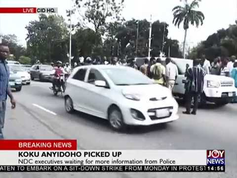 Police yet to speak; some supporters gather at CID headquarters - The Pulse on JoyNews (27-3-18)
