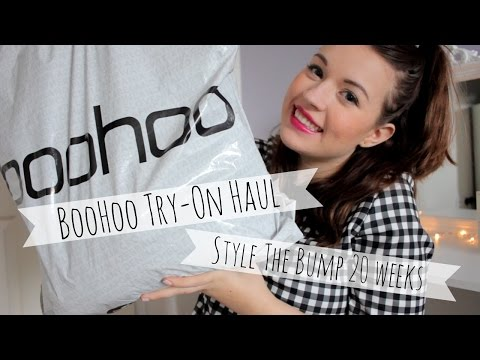 Boohoo Sale Haul | Bumpstyle at 20 weeks | Maternity on a Budget