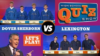 High School Quiz Show - Dover-Sherborn vs. Lexington (502)