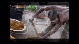 preview picture of video 'Palm nut to Palm oil'