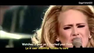 Adele - I set fire to the rain (con subtítulos en Inglés y Español)