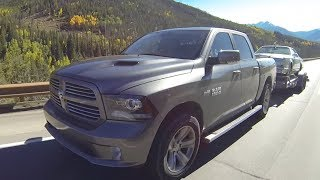 2013 Ram 1500 HEMI Sport Takes on Tundra & the Ike Gauntlet Towing Test ( Episode 5 )
