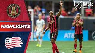 Atlanta United FC vs. New England Revolution | Josef Martinez Returns, Nagbe Shines | HIGHLIGHTS