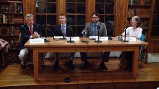 North Stonington selectman candidates debate