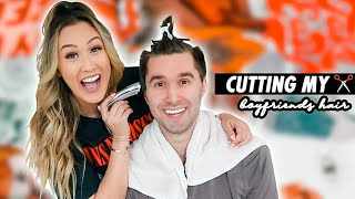 Cutting My Boyfriend's Hair (Cuz Quarantine)