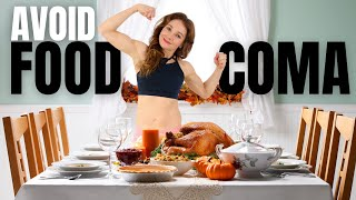 Exercise After Eating Too Much To Avoid Food Coma And Stimulate Mood | FIGHT FATIGUE AFTER EATING