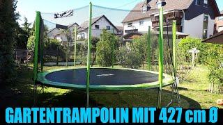 GARTENTRAMPOLIN mit 427 cm Ø von STAMM SPORTS [Vorstellung | dertestmichel]