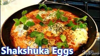 Shakshuka - Eggs In Tomato Sauce Recipe Healthy Breakfast   Recipes By Chef Ricardo