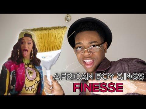AFRICAN BOY SINGS