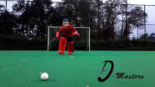 D Masters Goalie - Head First Forehand