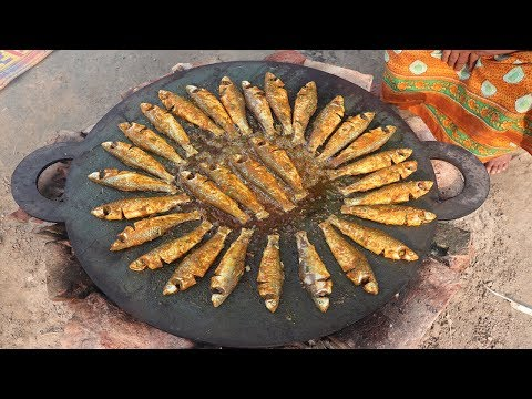 Delicious Fish Fry Recipe Bengali Style Healthy and Spicy Alive Bata Fish Fried Cooking Village Food