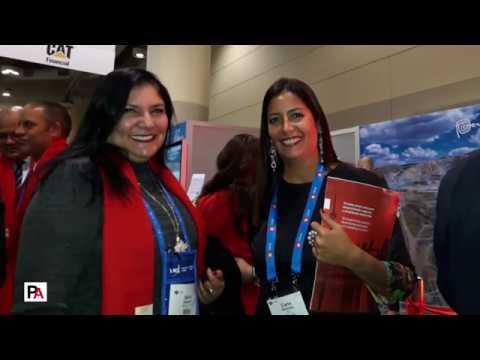 PDAC 2018: Antesala a la inauguración del stand peruano