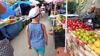 Отдых в Грузии! Рынок Кобулети,цены,позитивное общение с торговцами).