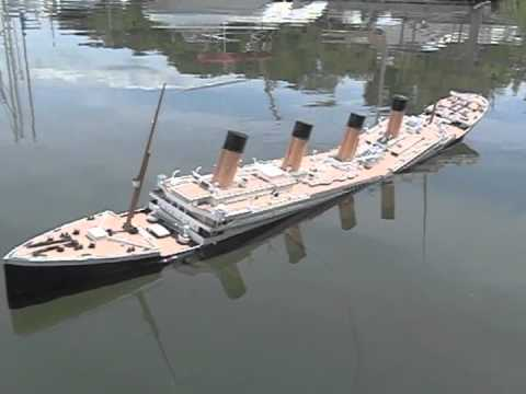 [Titanic Breakup Failures #4] Titanic Hull Sagging, Sinking