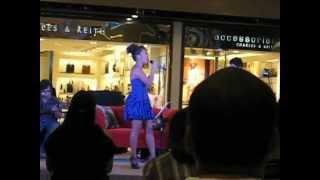 An excerpt of Anna Fegi's Concert in SM City Cebu