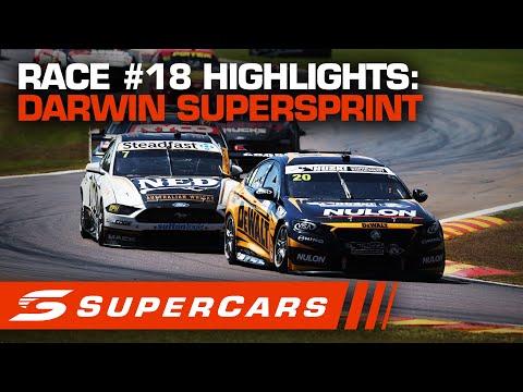 2020年 SUPERCARS ダーウィン スーパースプリント #race18 レースハイライト動画