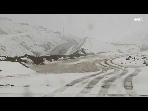 عاصفة ثلجية تضرب 20 ولاية في الجزائر