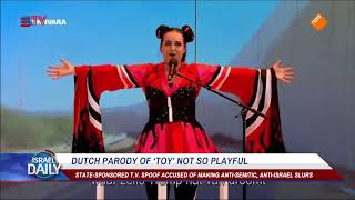 Dutch TV Releases Anti-Semitic Parody Of Eurovision Winner - May 22, 2018