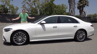 The 2021 Mercedes-Benz S-Class Is the New Top Luxury Sedan