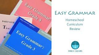 Easy Grammar Homeschool Curriculum Review