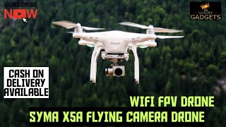 SYMA X5A FPV DRONE2 2.4GHZ 4CH,6-AXIS GYRO DRONE ALTITUDE HOLD CAMERA WI-FI DRONE   UNBOXINGREVIEW ????