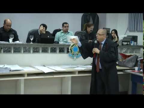 Debates: Tribunal do Júri de Barra do Corda. Ércio Quaresma Firpe.