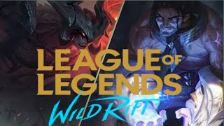 Hero yg akan rilis di League Of Legend wild Rift | Aatrox & Sylas
