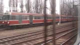 preview picture of video 'Wieliczka Rynek Kopalnia - Kraków Główny przejazd EN77-005'