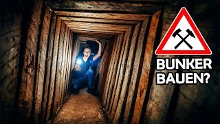 Builing a secret UNDERGROUND HOUSE! #1 (with subtitles)