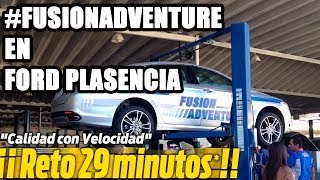 preview picture of video 'Fusion Adventure - Reto 29 Minutos Ford Plasencia'