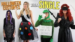 Halloween Costumes When You're SINGLE