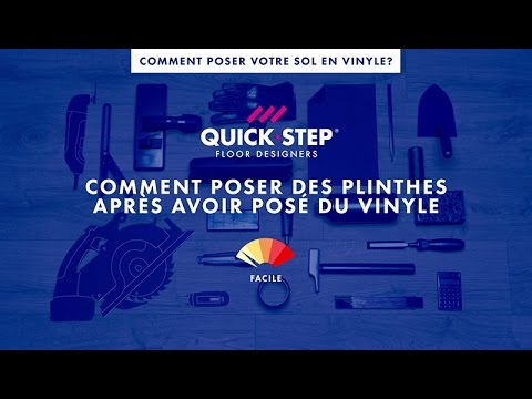 Comment finir votre sol en vinyle de luxe quick for Comment poser du quick step
