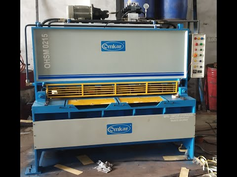 Hydraulic Plate Cutting Shearing Machines