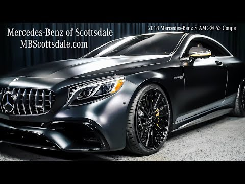 AMG® Studio Coupe - 2018 Mercedes-Benz S AMG 63 Coupe - S63 AMG Review Mercedes-Benz Of Scottsdale
