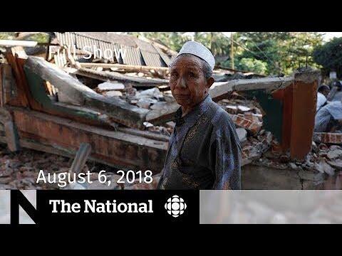 The National for Monday, Aug 6, 2018 — Saudi Arabia, Earthquake, Rick Gates