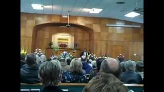 1-9-13 Howard Smith / Funeral = (CHRISTIAN Air Force Pilot / Korean War Veteran ) # 1...