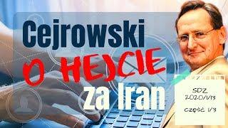 Cejrowski o hejcie za Iran 2020/1/13 Studio Dziki Zachód odc. 40 cz. 1