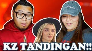 KZ TANDINGAN - SAY SOMETHING SINGER | COUPLES REACTION 2018