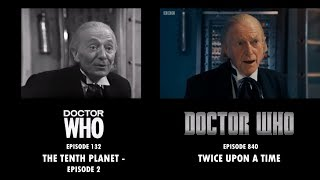 Doctor Who: The Tenth Planet / Twice Upon a Time - Side-by-Side