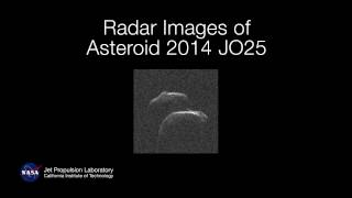 NASA Radar Images of Asteroid 2014 JO25