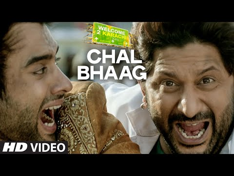 'Chal Bhaag' VIDEO Song | Welcome 2 Karachi | T-Series