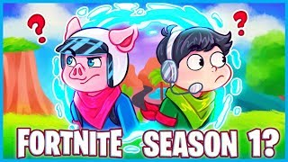 WE'RE GOING BACK to *SEASON 1* of Fortnite: Battle Royale! (Fortnite Funny Moments & Fails)