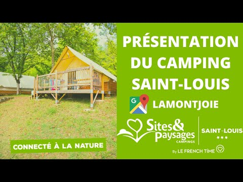 Vacances au camping Sites et Paysages Saint Louis