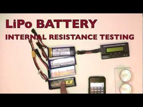 LiPo INTERNAL RESISTANCE TESTING - a simple 12v l